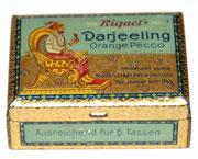 Riquet Tee Blechdose Darjeeling