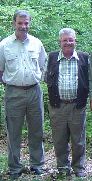 Ueli Tröndle und Urs Andres