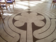 Labyrinth at Blessed John Henry Newman Catholic Church Warrington