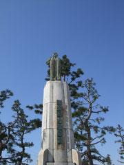 銭谷五兵衛銅像