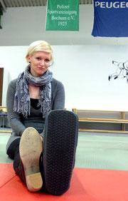 """Diana und ihr """"Monster-Schuh"""""""