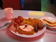 朝食3.95ポンド
