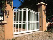 Puertas de aluminio con barrotes