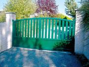Puertas mixtas de aluminio