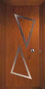 Puerta de entrada de aluminio Murano