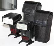 Canon Speedlite 430 и 580 II