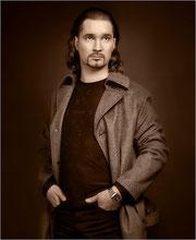Man's portrait by A.Smirnov