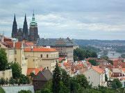 die goldene Stadt Prag in Tschechien
