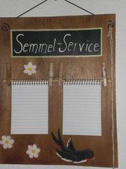 Brötchenservice kostenlos im Haus Resi in Mähring