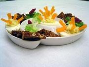 Partyigel (gefüllte Eier)