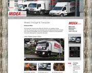 Midea Homepage