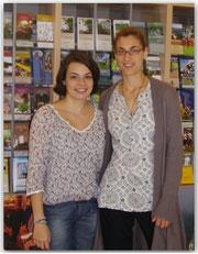 Lucie Valais (à gauche sur la photo)