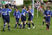 Grund zum Jubeln: Fulda gewann gegen Kassel