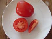 Rio Grande, längliche, rote Früchte. Bild Bio Gärtnerei Kirnstötter