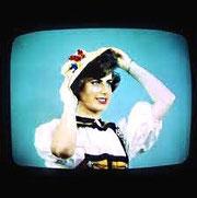 Mire télévision couleurs en 1967