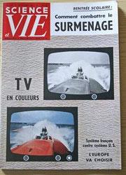 Page de couverture du magazine Science et Vie