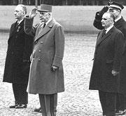 Pierre Messmer, Charles De Gaulle et Georges Pompidou