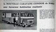 Camping car Ford Condor