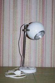 Lampe de chevet spot boule années 70