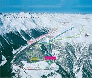 Skitourenroute Watles