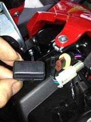 バッテリーチャージャー接続カプラー