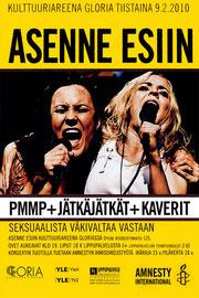 Lauri invitado especial en el concierto de PMMP