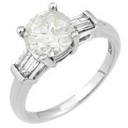 ダイヤモンドプラチナリング