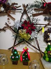 クリスマスリース製作・販売