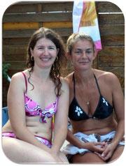 Ma maman avec Hélène