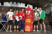 In der Vereinswertung siegte der SSV Rot Weiß Friedland