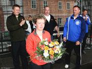 Einen großen Dank gilt Beatrix Pohle, sie kümmerte sich viel um den sportlichen Ablauf des Laufes