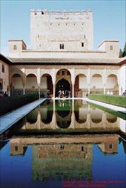Granada, Alhambra, Myrtenhof
