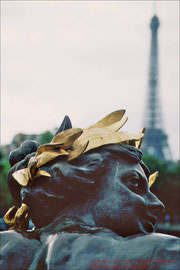 Blick vom Pont Alexandre III.