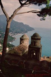 Ravello, Blick von der Villa Rufulo