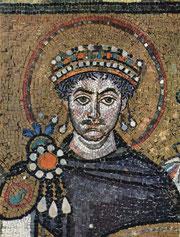 San Vitale, Kaiser Justinian