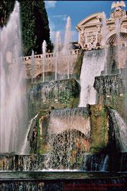 Villa d'Este,  Wasserorgelbrunnen