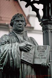 Wittenberg, Martin-Luther-Denkmal