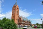 Bentwischer Kirche wird saniert von Wieck & Partner Perleberg