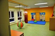Der neue Spiel- und Bewegungsraum (© Foto Wieck & Partner)