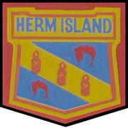 Herm Island Crest.