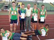 Gold und Silber für die Jungen U16