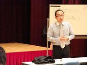 営業力強化セミナー講座風景(島田商工会議所)