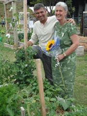 Al & Anne. Otumoetai Garden opening Day 2010