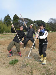 左から八木・勝田・金児