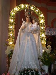 Imagen de la Virgen de Copacabana