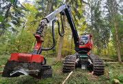 Holzernte Vollernter Harvester Valmet 911.3