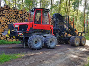 Holzernte Forwarder Komatsu 860.4