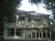 朝のエリスマン邸