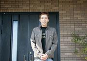 日本フェザー級王者 天笠 尚選手