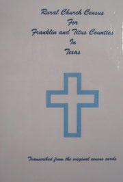 Cover of Rural Church Census for Franklin and Titus Counties in Texas